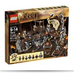 Hobbit The Goblin King Battle