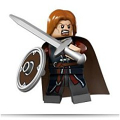 Lord Of The Rings Boromir Minifigure