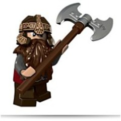 Lord Of The Rings Gimli Minifigure