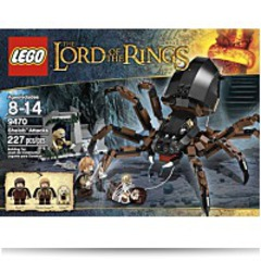 Lord Of The Rings Hobbit Shelob Attacks