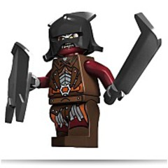 Lord Of The Rings Urukhai Minifigure