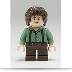 New Lord Of The Rings Frodo Small Minifigure