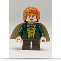 New Lord Of The Rings Merry Small Minifigure