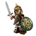 lego lord rings king theoden minifigure