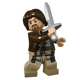 Lord Of The Rings Aragorn Minifigure