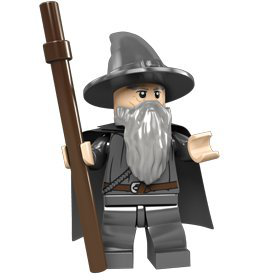 Lord Of The Rings Gandalf Minifigure